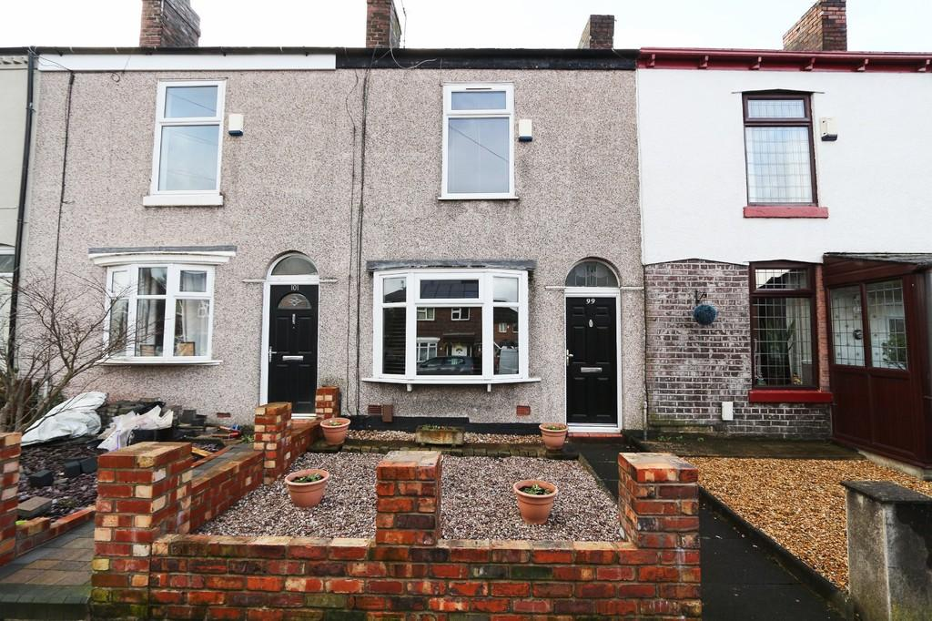 2 Bedrooms Terraced House for sale in 99 Leigh Road, Worsley, Manchester