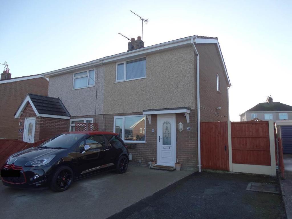 2 Bedrooms Semi Detached House for sale in 30 Alltwen, Llysfaen, LL29 8PG