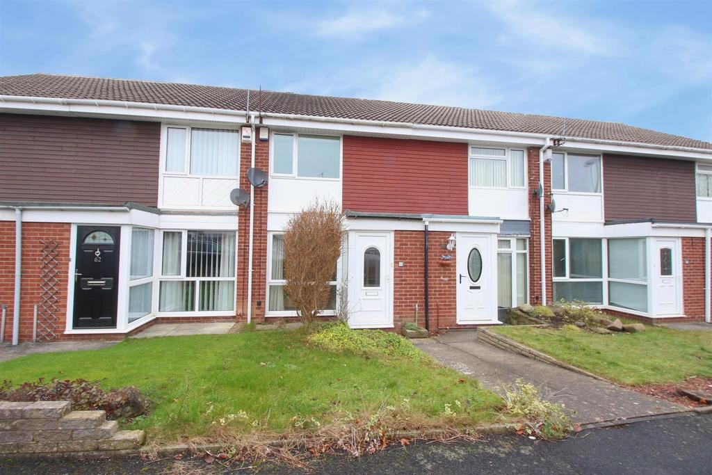 2 Bedrooms Terraced House for sale in Launceston Close, Kingston Park, Newcastle Upon Tyne