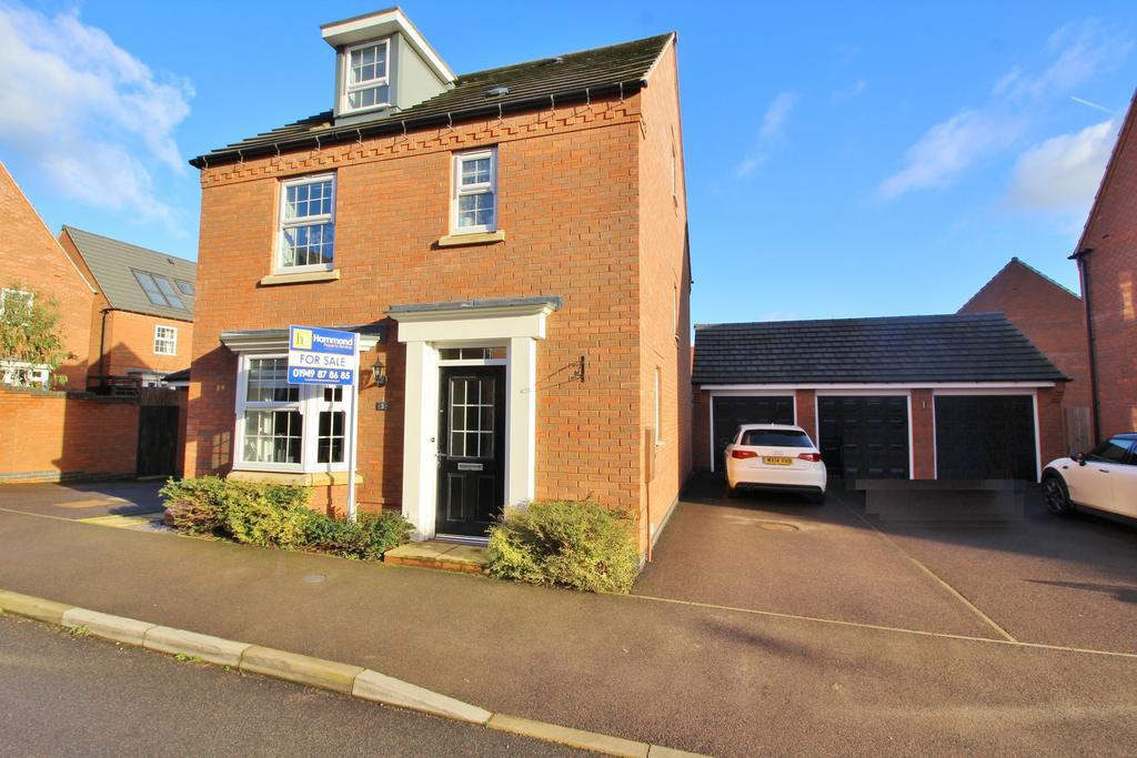 4 Bedrooms Detached House for sale in Dakota Road, Newton, Nottinghamshire NG13