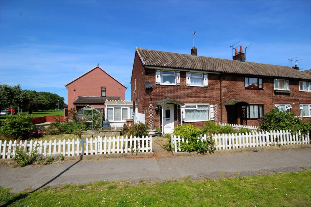 2 Bedrooms End Of Terrace House for sale in Wilberforce Crescent, Beverley, HU17