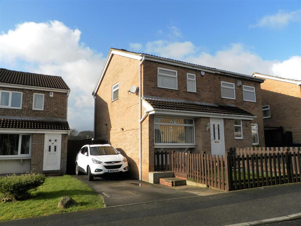 3 Bedrooms Semi Detached House for sale in 6 Duich Road, Woodcrest, Bradford, BD6 2TW