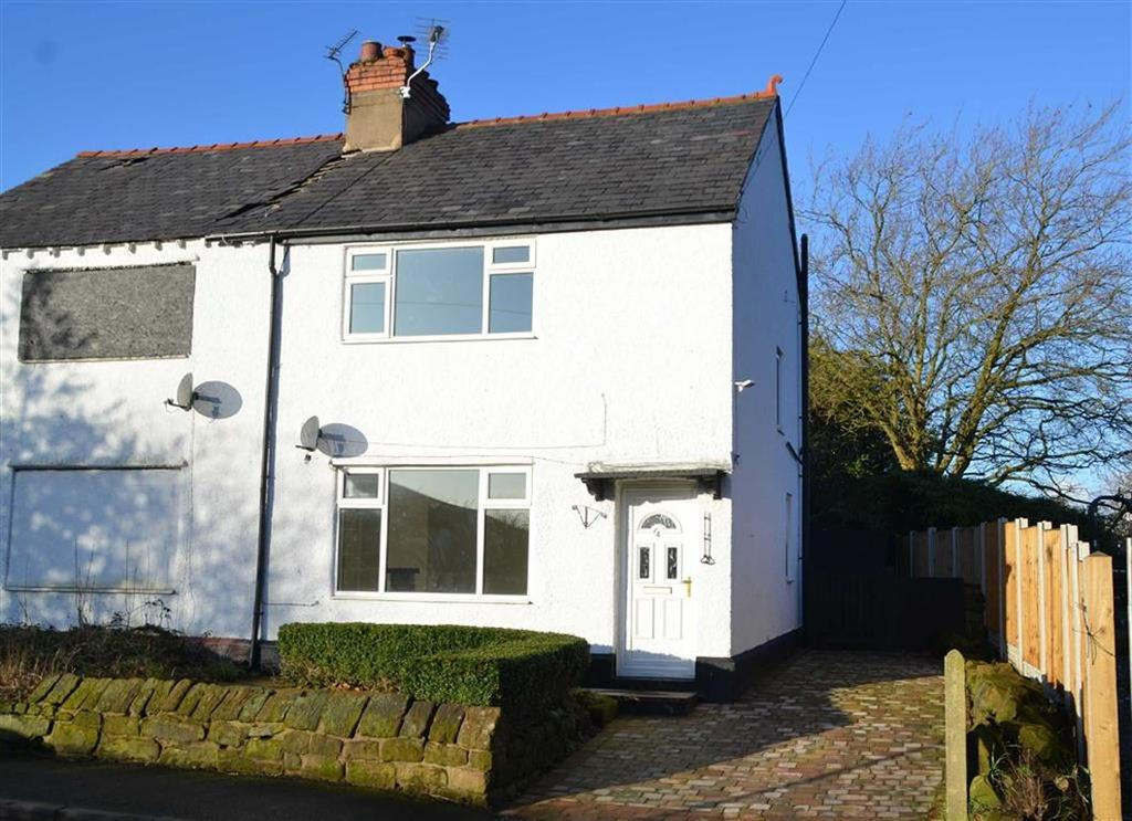 2 Bedrooms Semi Detached House for sale in New School Lane, Childer Thornton, CH66