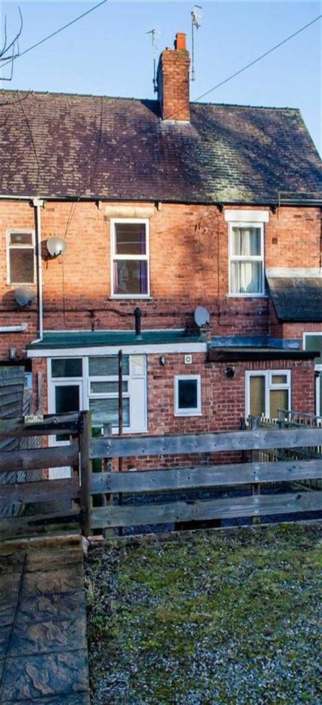 2 Bedrooms Terraced House for sale in Minimum Terrace, Boythorpe, Chesterfield, S40