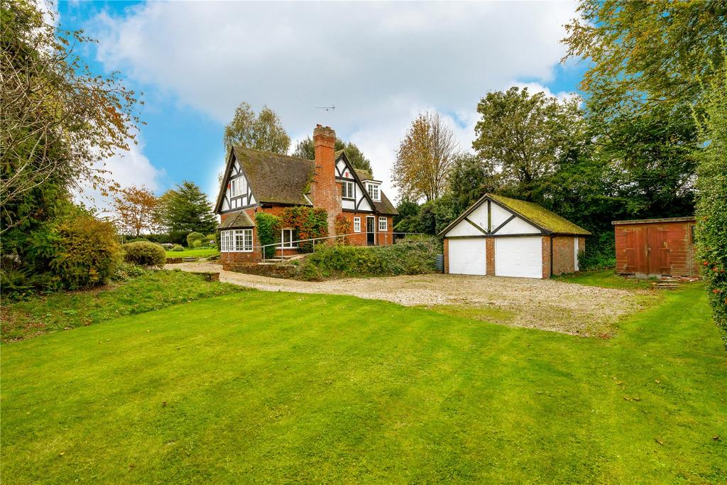 4 Bedrooms Detached House for sale in Bransbury, Barton Stacey, Winchester, Hampshire, SO21