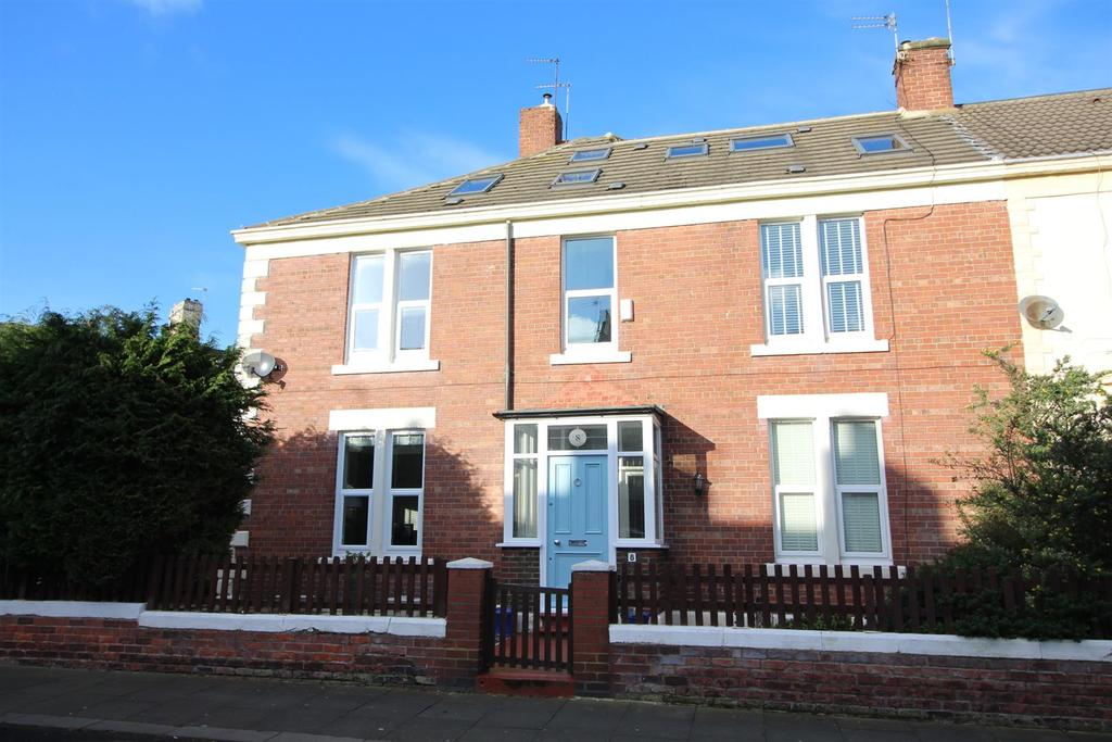 4 Bedrooms End Of Terrace House for sale in Jackson Street, North Shields