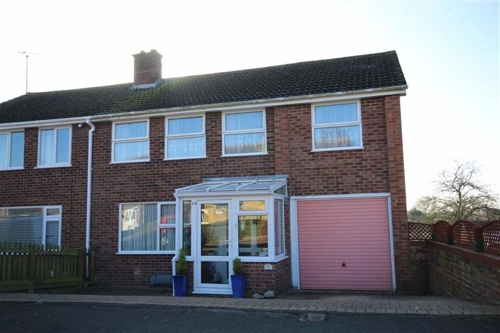 4 Bedrooms Semi Detached House for sale in Derwent Drive, Mitton, Tewkesbury, Gloucestershire