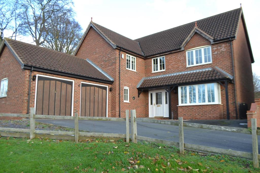 4 Bedrooms Detached House for sale in Willoughby Chase, Gainsborough, Lincolnshire, DN21
