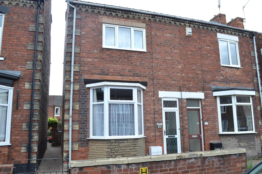 3 Bedrooms Semi Detached House for sale in George Street, Gainsborough, Lincolnshire, DN21