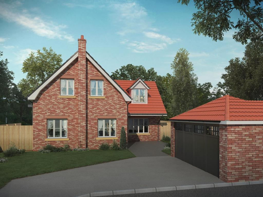 4 Bedrooms Detached House for sale in Ruards Lane, Goxhill, North Lincolnshire, DN19