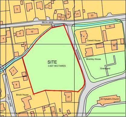 Land Commercial for sale in Church Street, Hibaldstow, North Lincolnshire, DN20