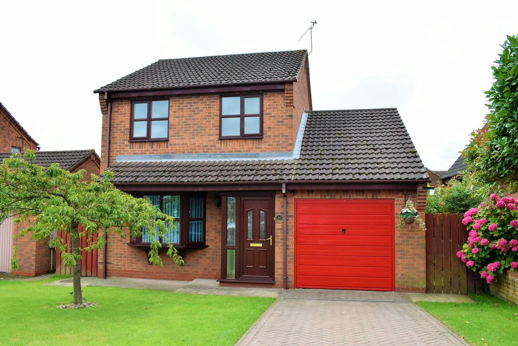 3 Bedrooms Detached House for sale in Appleby Gardens, Broughton, Brigg, North Lincolnshire, DN20