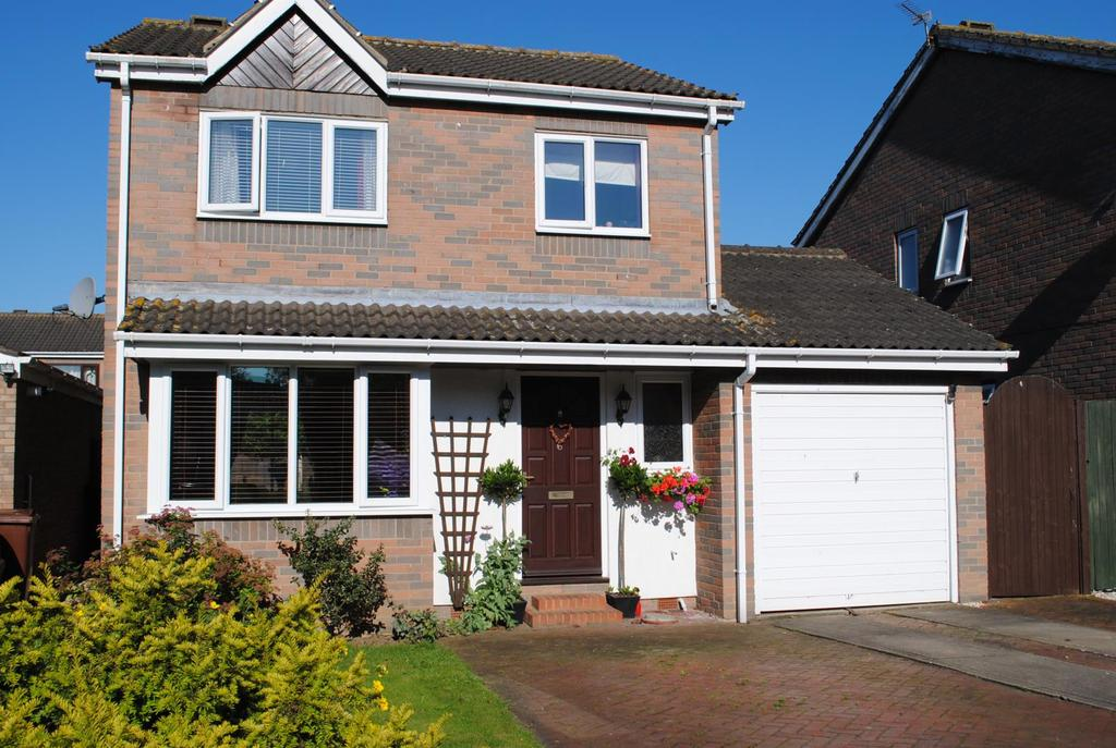 3 Bedrooms Detached House for sale in Greenfield Drive, Hibaldstow, North Lincolnshire, DN20
