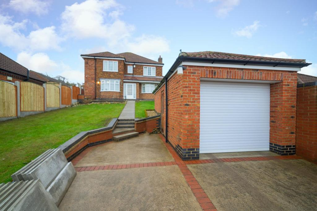 4 Bedrooms Detached House for sale in East Cross Street, Kirton Lindsey, Gainsborough, Lincolnshire, DN21