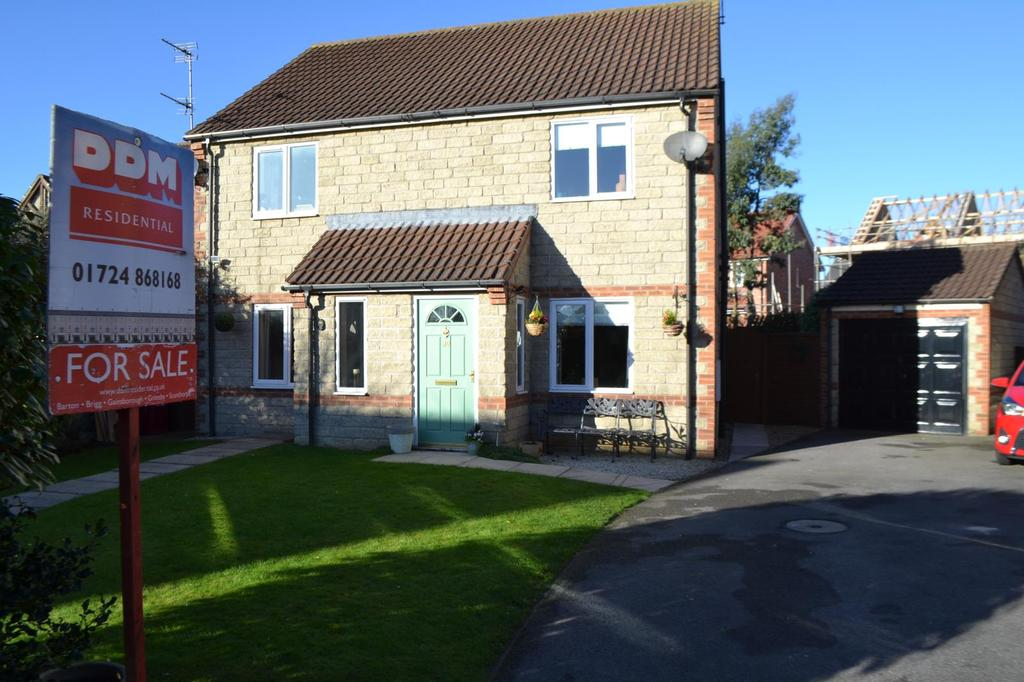 2 Bedrooms Semi Detached House for sale in Nutwood View, Scunthorpe, North Lincolnshire, DN16