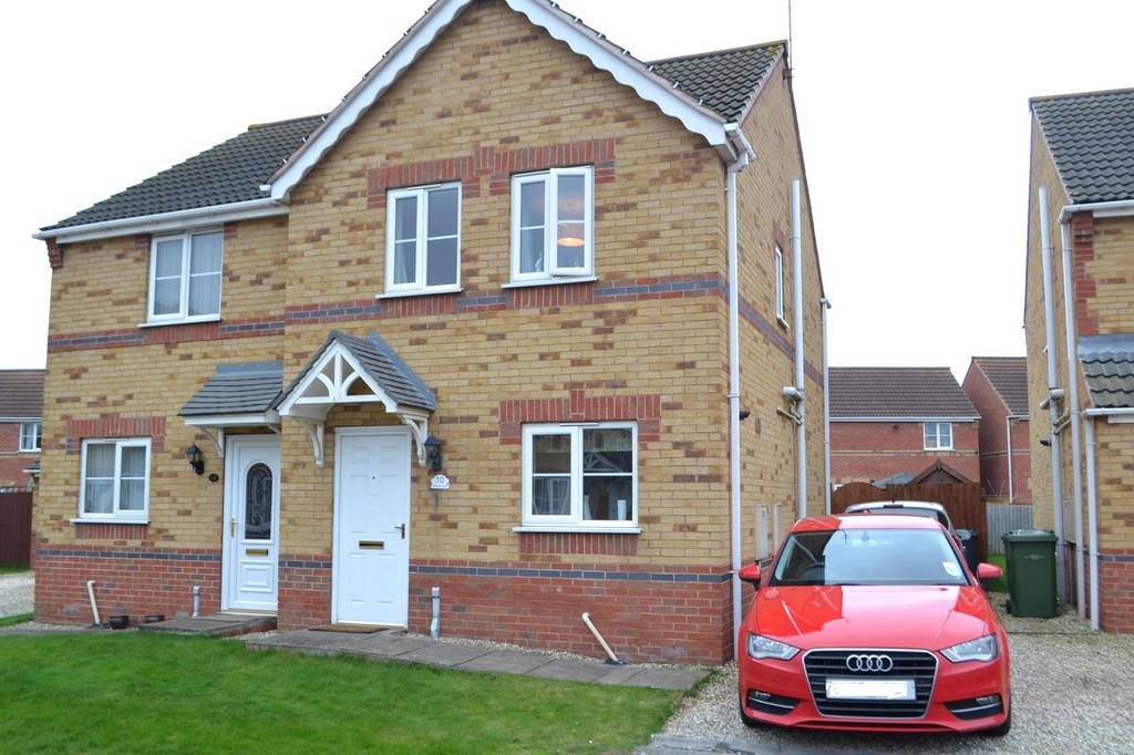 3 Bedrooms Semi Detached House for sale in Regents Close, Scunthorpe, North Lincolnshire, DN15