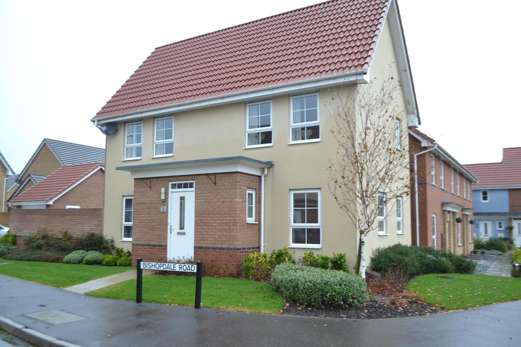 3 Bedrooms Detached House for sale in Bishopdale Road, Scunthorpe, North Lincolnshire, DN16