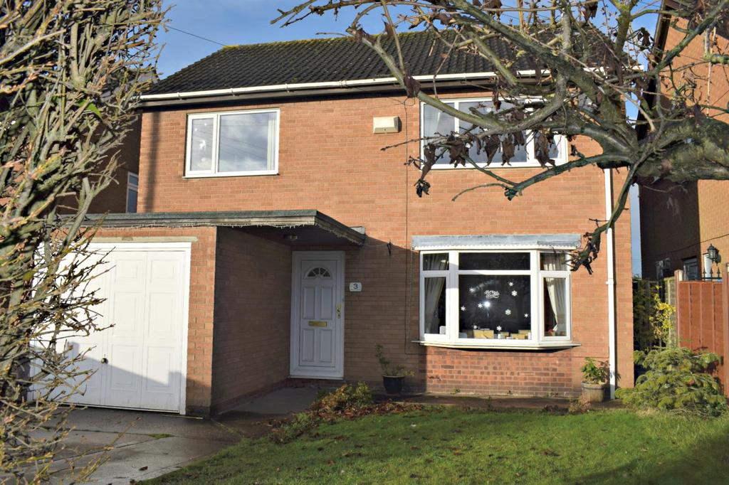 4 Bedrooms Detached House for sale in Barlings Close, Scotter, Gainsborough, Lincolnshire, DN21
