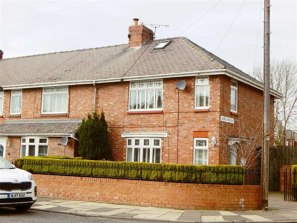 3 Bedrooms Terraced House for sale in Queens Crescent, Wallsend, Tyne Wear, NE28