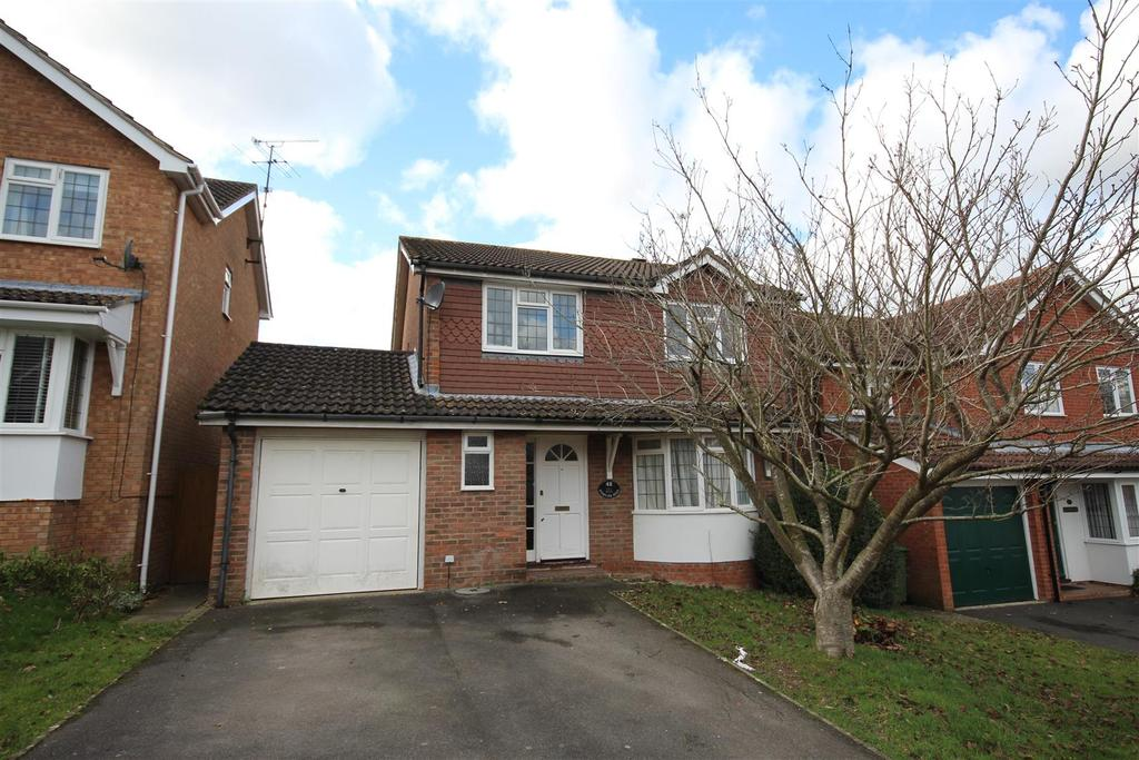 4 Bedrooms Detached House for sale in Staples Hill, Partridge Green,