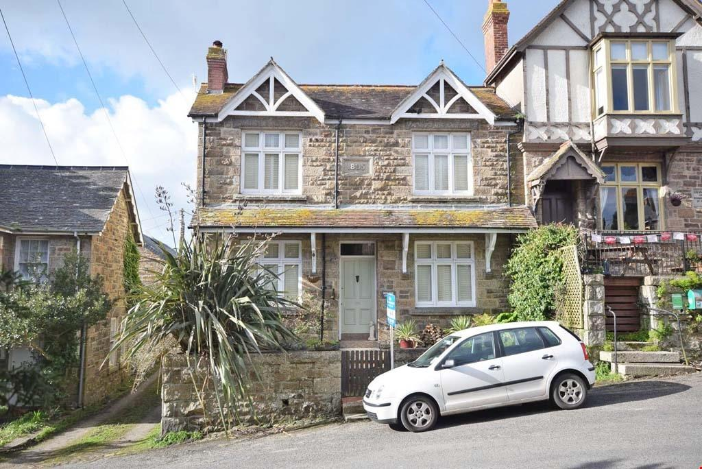 3 Bedrooms Detached House for sale in Gulval Churchtown, Penzance, Cornwall, TR18