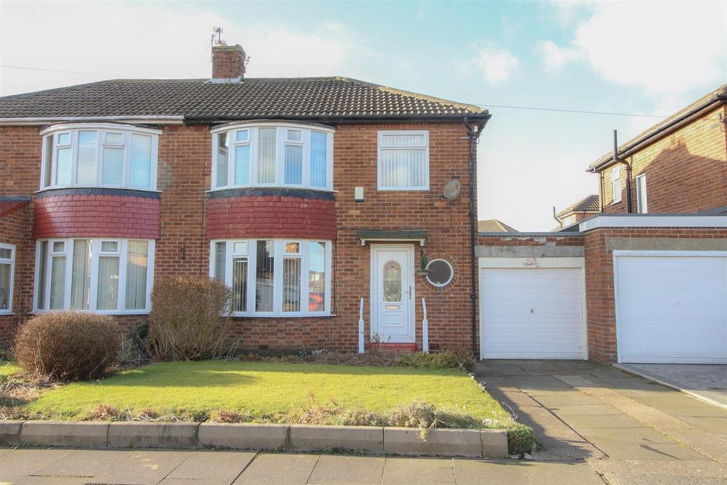 3 Bedrooms Semi Detached House for sale in Elmwood Avenue, Newcastle Upon Tyne