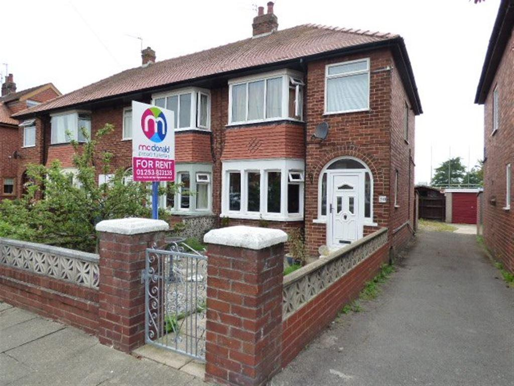 3 Bedrooms Semi Detached House for rent in Aintree Road, Thornton-Cleveleys FY5 5HP
