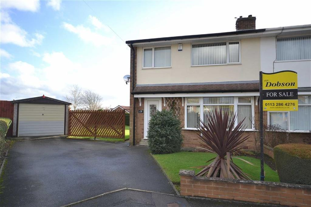 3 Bedrooms Semi Detached House for sale in Purbeck Grove, Garforth, Leeds, LS25