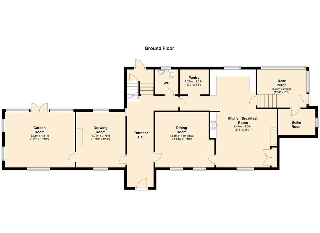 Floorplan 2 of 6: Hall Farm, Main Street, Kneeton   Floor 1.jpg