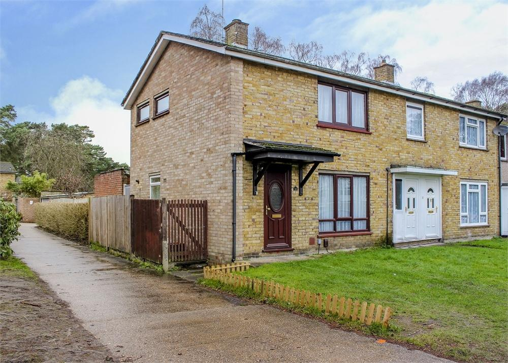 2 Bedrooms End Of Terrace House for sale in Wellington Drive, Bracknell, Berkshire