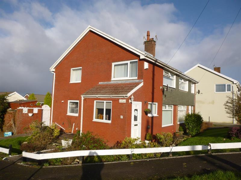 3 Bedrooms Semi Detached House for sale in St. Teilos Way, Caerphilly