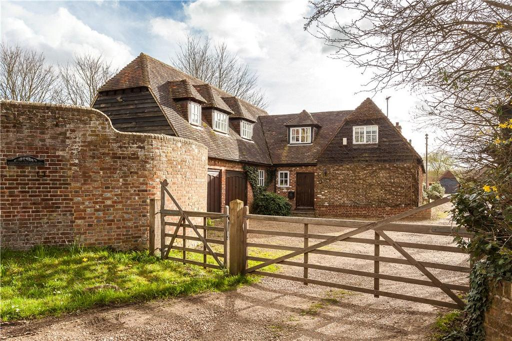 4 Bedrooms Detached House for sale in Symonds Lane, Yalding, Maidstone, Kent, ME18