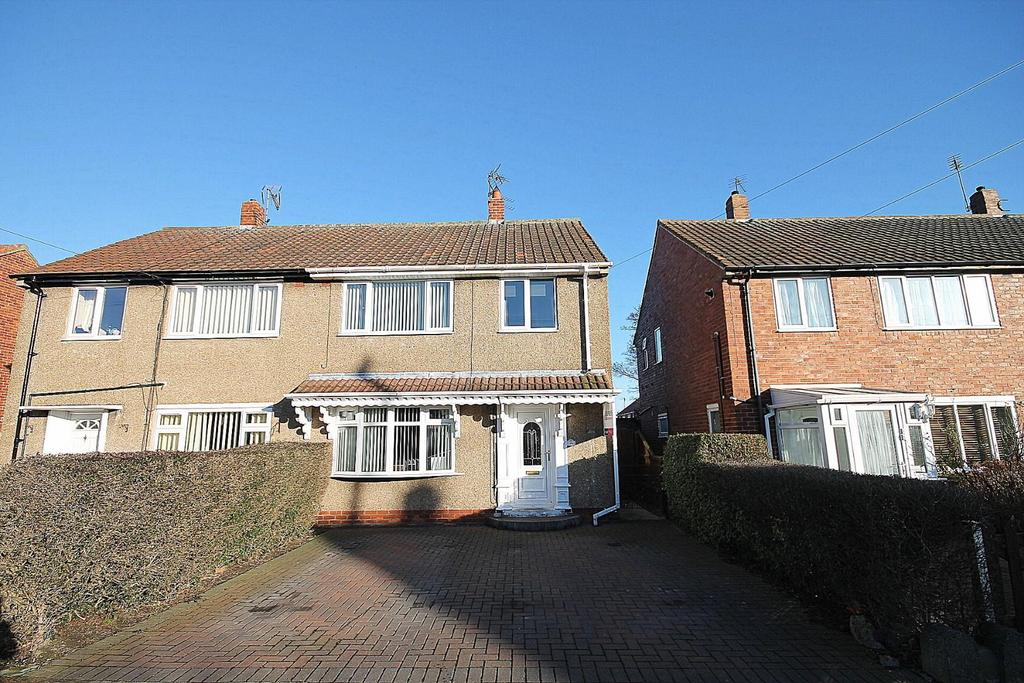 3 Bedrooms Semi Detached House for sale in Canterbury Crescent, Willington, Crook