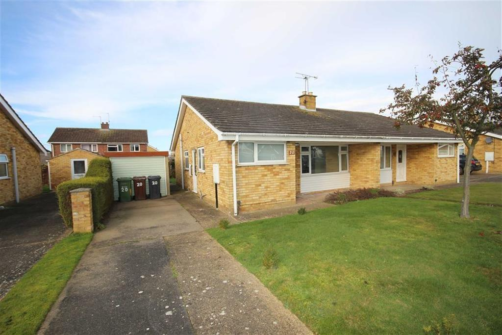 3 Bedrooms Semi Detached Bungalow for sale in Garrick Close, Lincoln