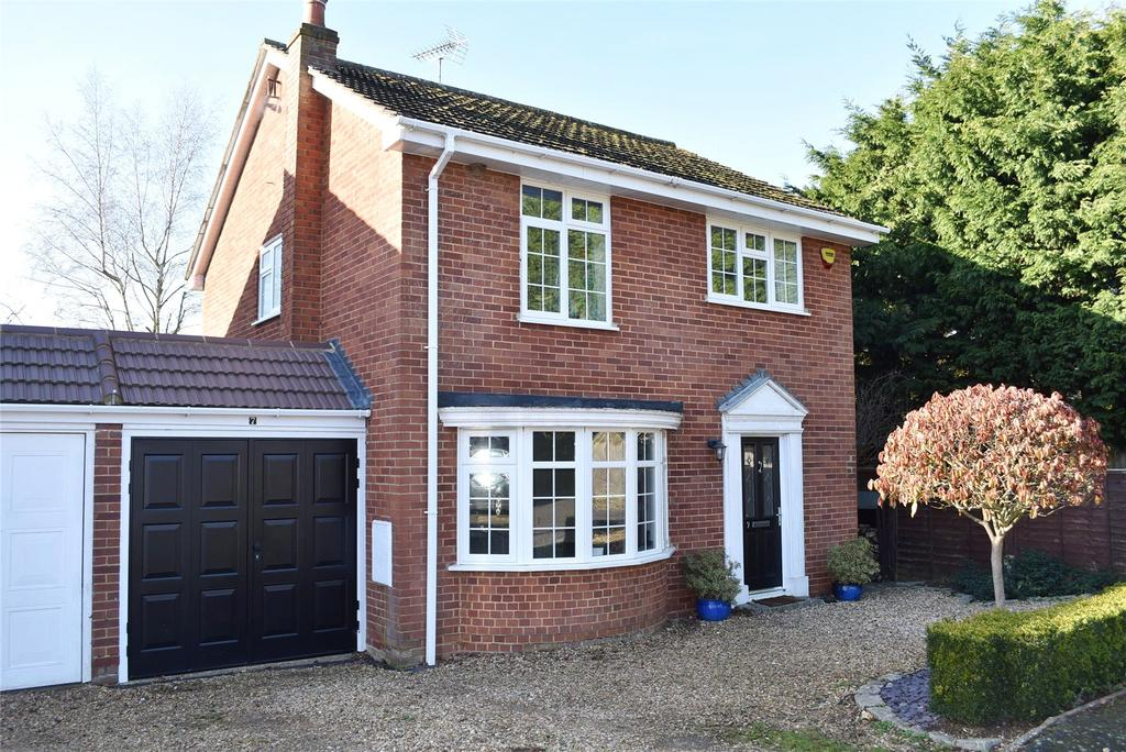 4 Bedrooms Link Detached House for sale in Farm Close, Stewkley