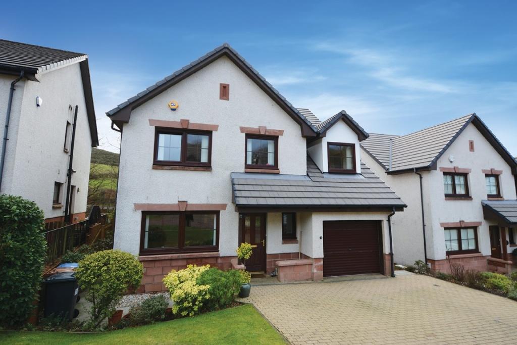 5 Bedrooms Detached Villa House for sale in 3 Cubrieshaw Park, West Kilbride, KA23 9PN
