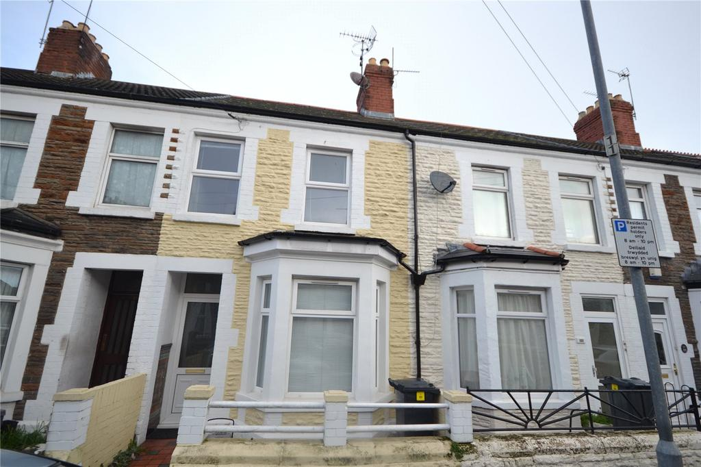 3 Bedrooms Terraced House for sale in Glenroy Street, Roath, Cardiff, CF24