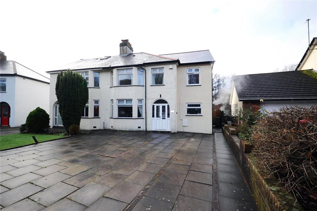 4 Bedrooms Semi Detached House for sale in Llandennis Road, Cyncoed, Cardiff, CF23