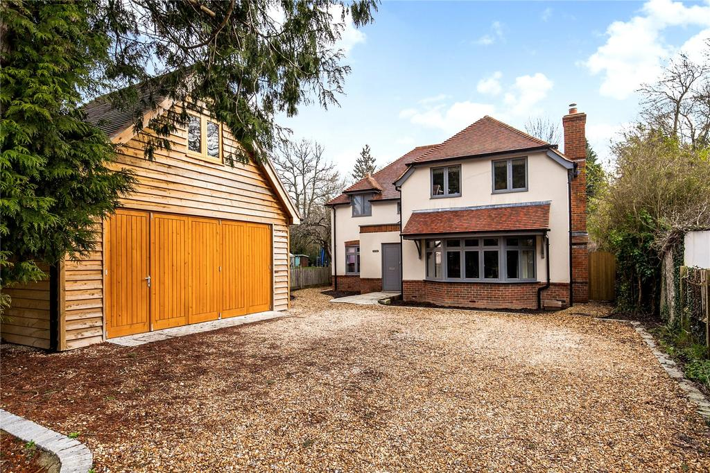 5 Bedrooms Detached House for sale in Otterbourne Road, Shawford, Winchester, Hampshire, SO21