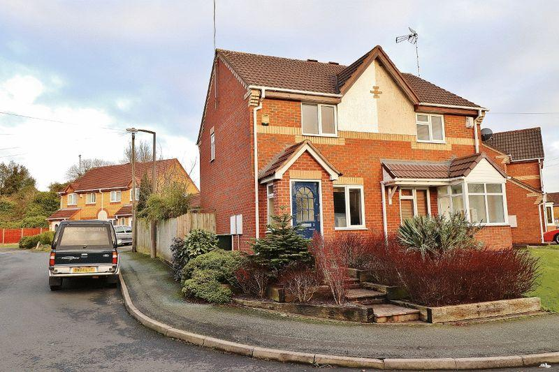 2 Bedrooms Semi Detached House for sale in Wenyon Close, Tipton