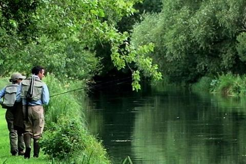Property for sale - The Timsbury Fishery - Rods, River Test, Timsbury, Hampshire