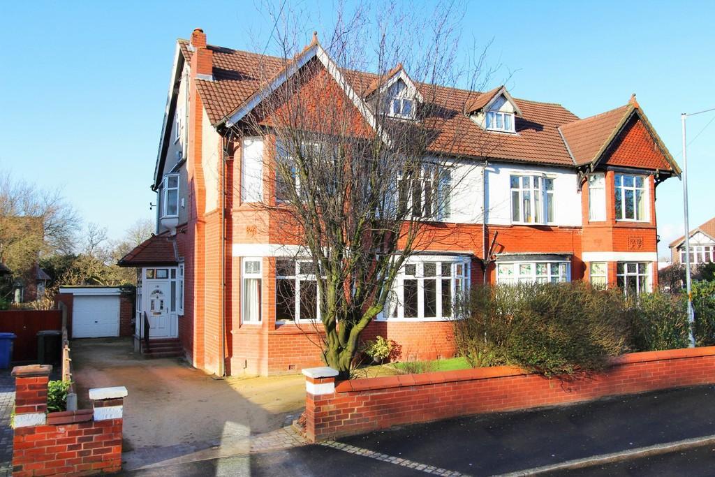 6 Bedrooms Semi Detached House for sale in Buckingham Road, Heaton Moor