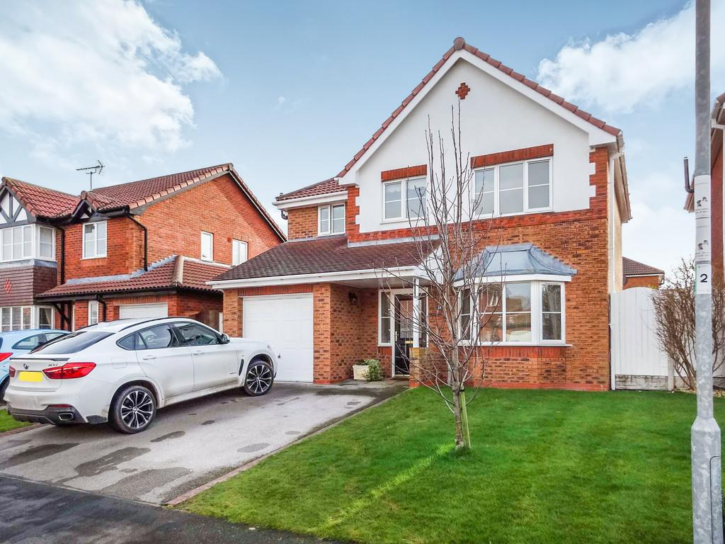 4 Bedrooms Detached House for sale in Llys Tywi, Rhyl