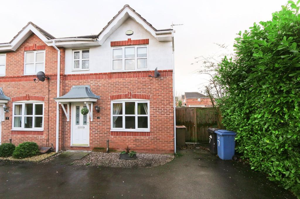 3 Bedrooms End Of Terrace House for sale in 7 Oleo Terrace, Irlam, Manchester