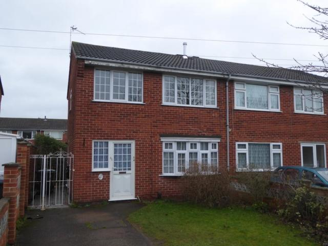 3 Bedrooms Semi Detached House for sale in Braddon Road Loughborough