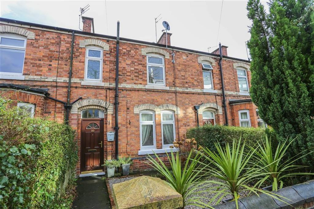 3 Bedrooms Terraced House for sale in Hollins Terrace, Marple, Cheshire