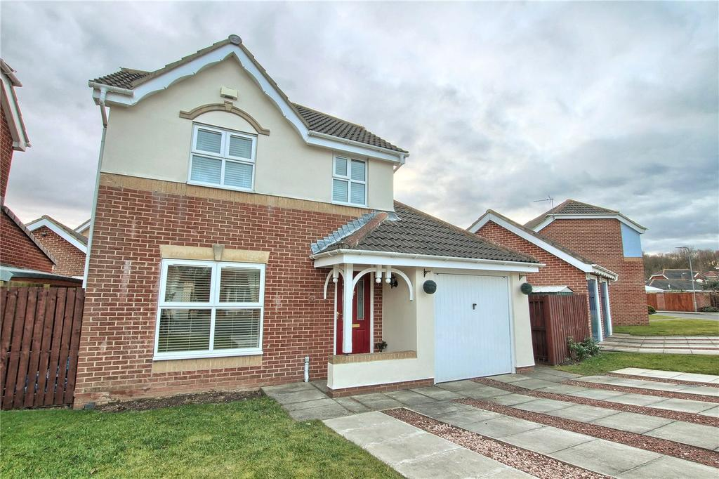 3 Bedrooms Detached House for sale in Bonington Crescent, Wolviston Grange