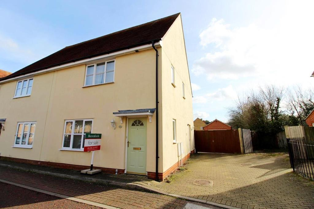 3 Bedrooms Semi Detached House for sale in Wadley Close, Tiptree, Colchester, Essex, CO5