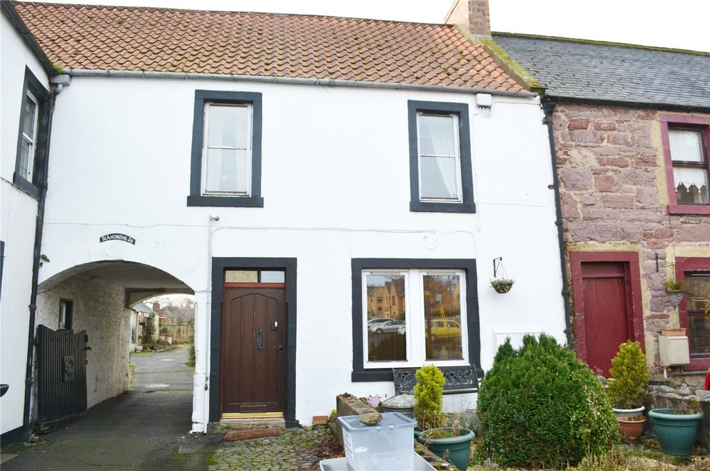 2 Bedrooms Apartment Flat for sale in Upper Flat, St Andrews Square, High Street, Ayton, Berwickshire