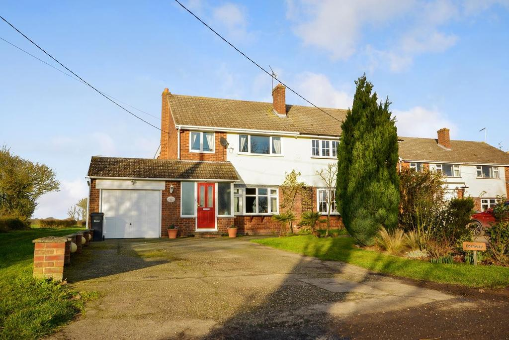 4 Bedrooms Semi Detached House for sale in Ranks Green, Fairstead, Chelmsford, CM3